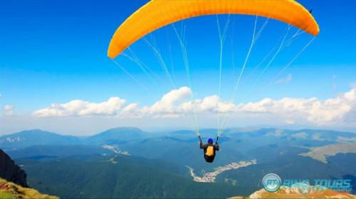 Прыжки с парашютом в Кемере